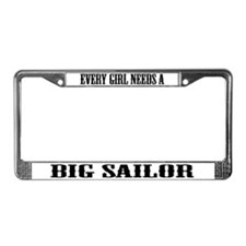 Unique Dating License Plate Frame