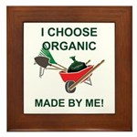Home Gardener Framed Tile