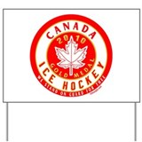 CA Canada Hockey Gold Medal Yard Sign