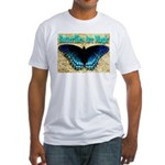 Butterflies Are Magic Fitted T-Shirt
