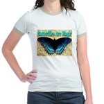 Butterflies Are Magic Jr. Ringer T-Shirt