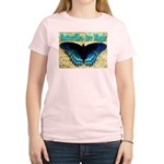 Butterflies Are Magic Women's Pink T-Shirt