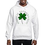 Four Leaf Clover Hooded Sweatshirt