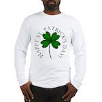 Four Leaf Clover Long Sleeve T-Shirt