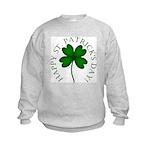 Four Leaf Clover Kids Sweatshirt