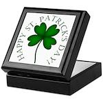 Four Leaf Clover Keepsake Box