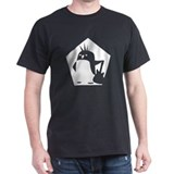 Rebel Penguin shirt (black)