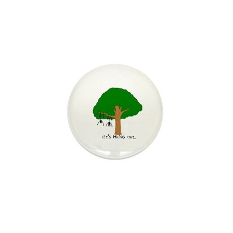 Let's hang out Mini Button (10 pack)