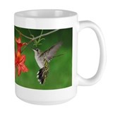 Hummingbird pair Mug