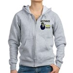 Abstinence: 99.99% Effective Women's Zip Hoodie