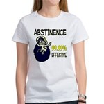 Abstinence: 99.99% Effective Women's T-Shirt
