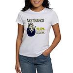 Abstinence: 99.99% Effective Women's T-Shirt
