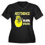 Abstinence: 99.99% Effective Women's Plus Size V-N