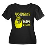 Abstinence: 99.99% Effective Women's Plus Size Sco