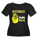 Abstinence: 99.99% Effective Women's Plus Size Sco