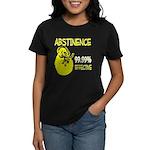 Abstinence: 99.99% Effective Women's Dark T-Shirt