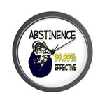 Abstinence: 99.99% Effective Wall Clock