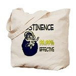 Abstinence: 99.99% Effective Tote Bag