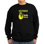 Abstinence: 99.99% Effective Sweatshirt (dark)