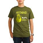 Abstinence: 99.99% Effective Organic Men's T-Shirt