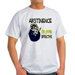 Abstinence: 99.99% Effective Light T-Shirt