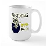 Abstinence: 99.99% Effective Large Mug