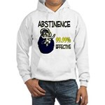 Abstinence: 99.99% Effective Hooded Sweatshirt