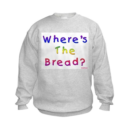Missing Bread Passover Kids Sweatshirt