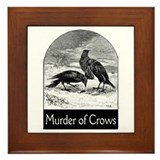 Murder of Crows Framed Tile