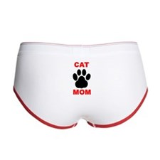 Cat Mom Women's Boy Brief