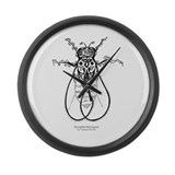 Fruit Fly Large Wall Clock