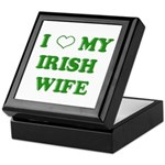 I Love My Irish Wife Keepsake Box
