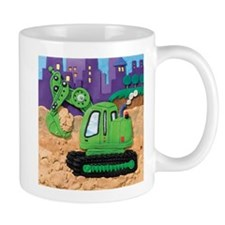 Excavator Mug