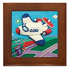 Airplane Framed Tile