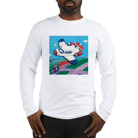 Airplane Long Sleeve T-Shirt