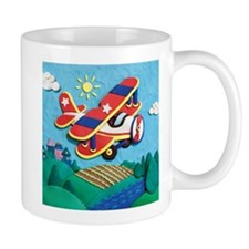 Biplane Aircraft Mug