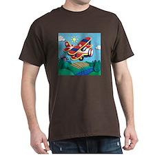 Biplane Aircraft T-Shirt