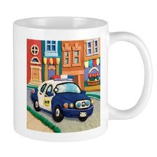 Police Car Mug