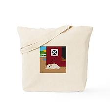 Farm Dog Tote Bag