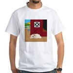 Farm Dog White T-Shirt