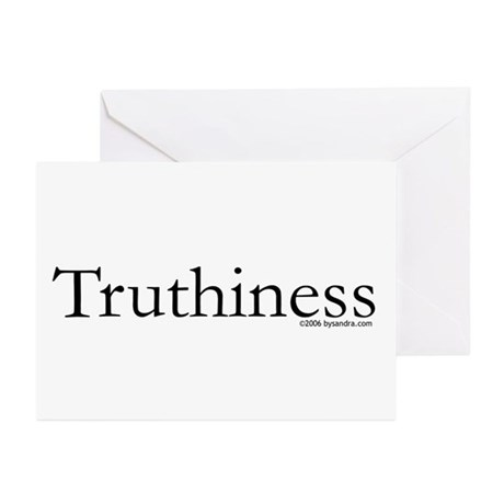 Truthiness Greeting Cards (Pk of 10)