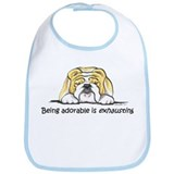 Adorable Bulldog Bib