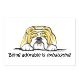 Adorable Bulldog Postcards (Package of 8)