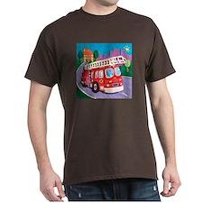 Fire Truck Dark T-Shirt