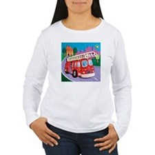 Fire Truck Women's Long Sleeve T-Shirt