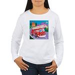 Fire Truck Women's Long Sleeve T-Shirt