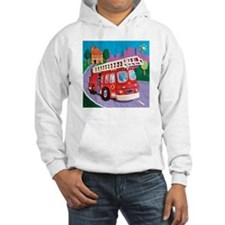 Fire Truck Hooded Sweatshirt