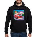 Fire Truck Hoodie (dark)