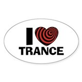 I Love Trance Decal