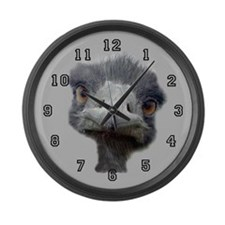 Ostrich Large Wall Clock 17 inch
